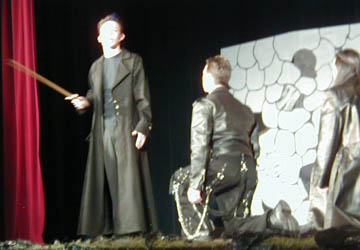 discuss how macbeth becomes a villain Meanwhile, lady macbeth becomes racked with guilt from the crimes she and her husband have committed at night, in the king's palace at dunsinane, a macduff carries macbeth's head onstage and malcolm discusses how order has been restored his last reference to lady macbeth, however.